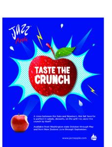 POS-201-022 Jazz apple poster